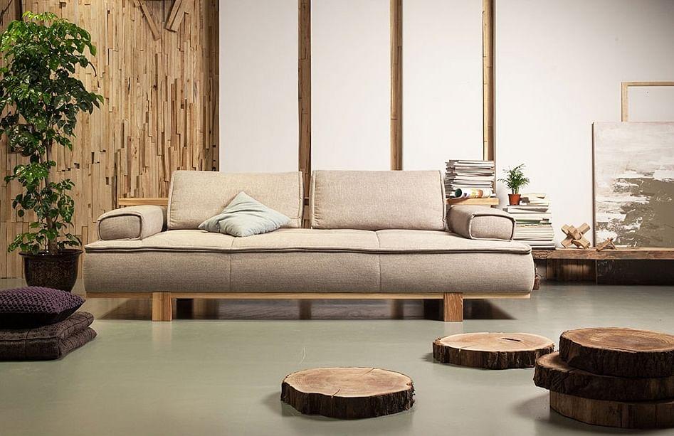 sofa, Scandinavian, wood, wood furniture, upholstered