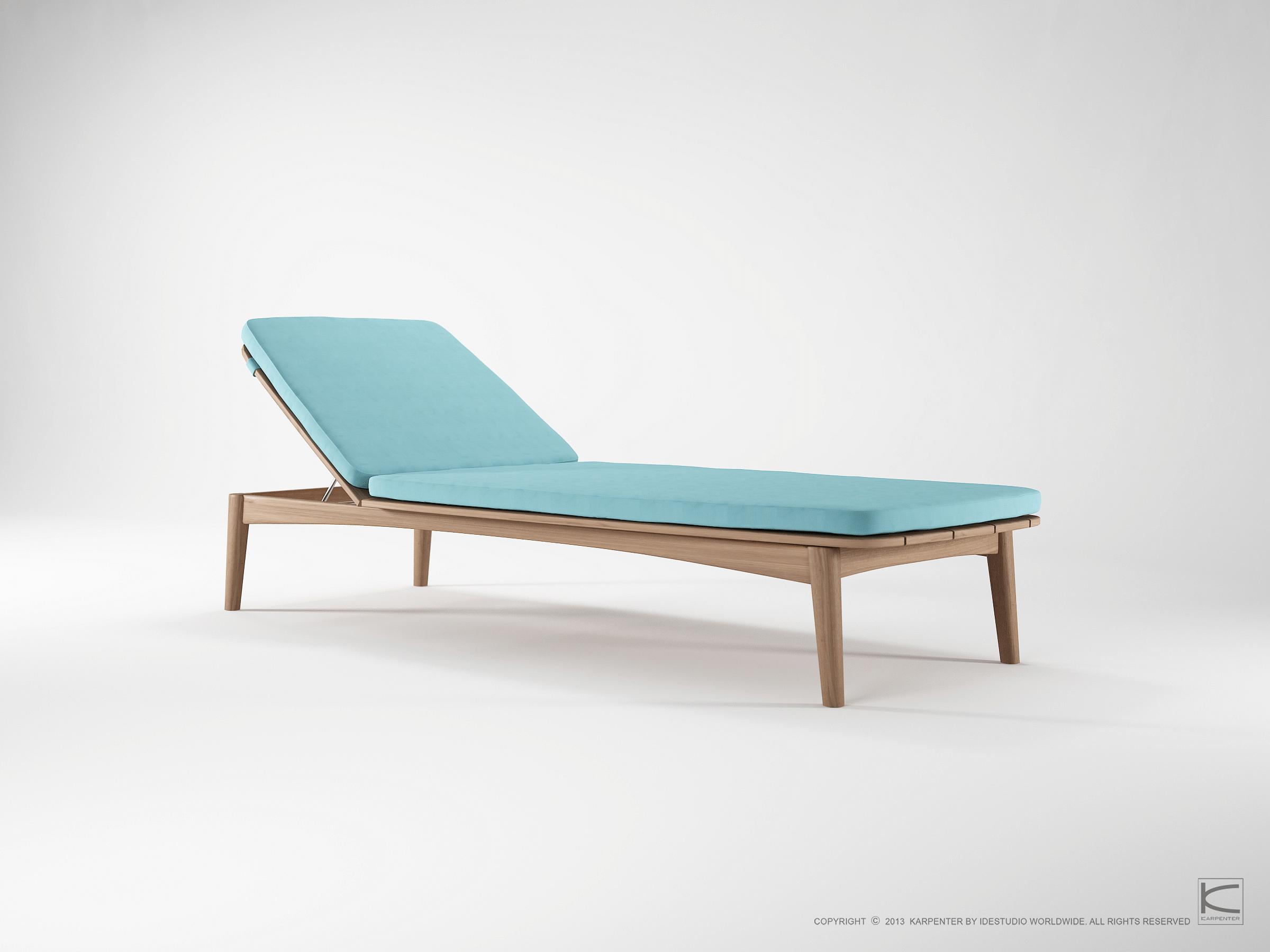 Mountain Teak, sun bed, Sunbrella, outdoor furniture, teak, wood furniture