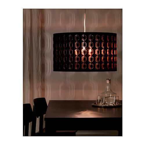 ikea, homeware, metallic, lampshade