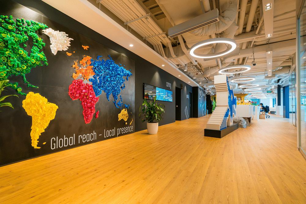 Lego, office design, Lego Hub Singapore