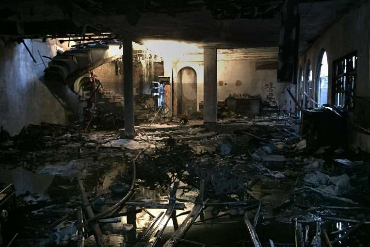 fire, burnt home, home safety