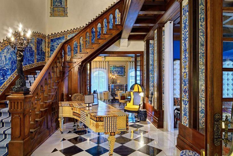 Hotel Bela Vista Viterbo Interior Design