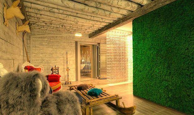 Green wall Benetti moss