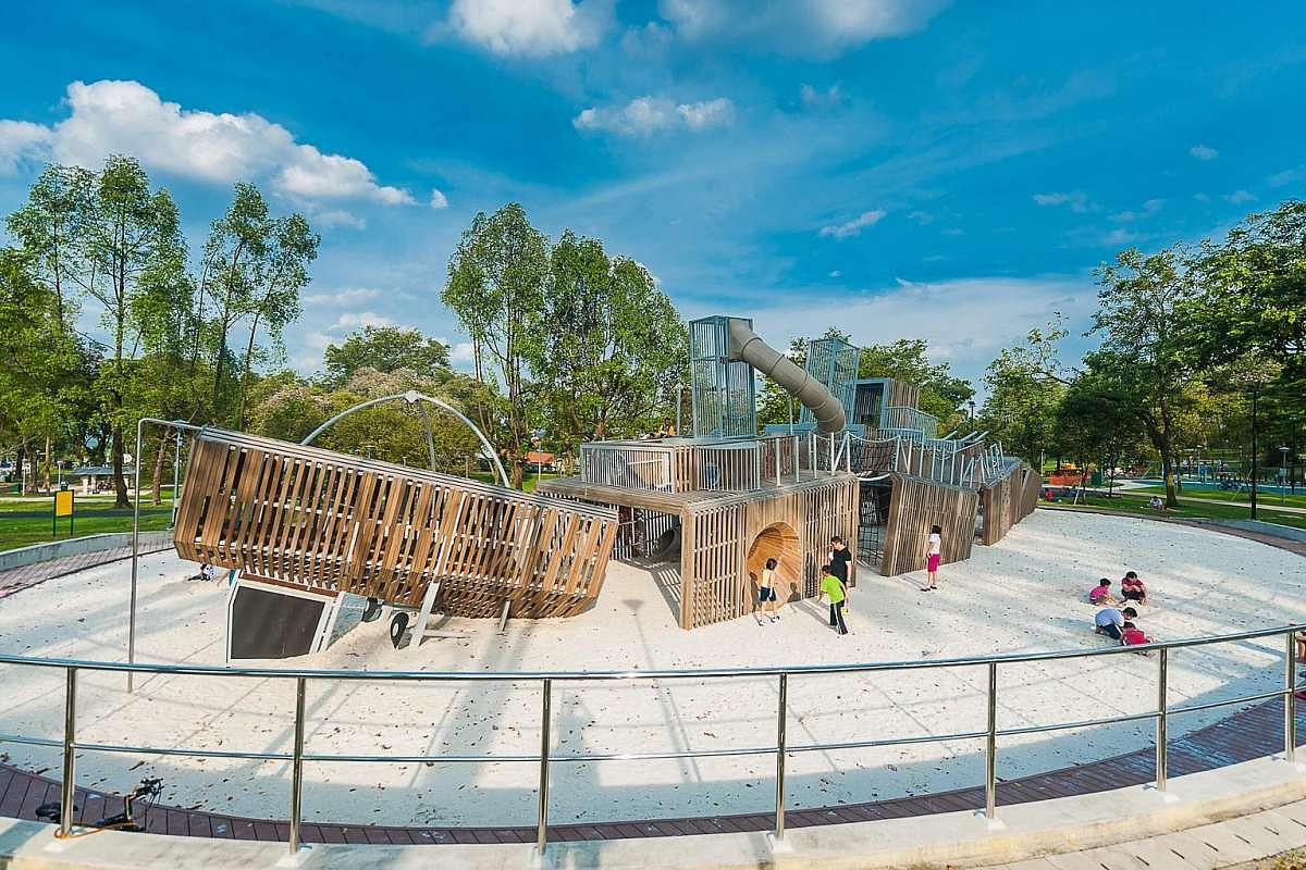 Where can you find a beach, hot spring, parks, water park and unique playgrounds, all in one place? - Home & Decor Singapore