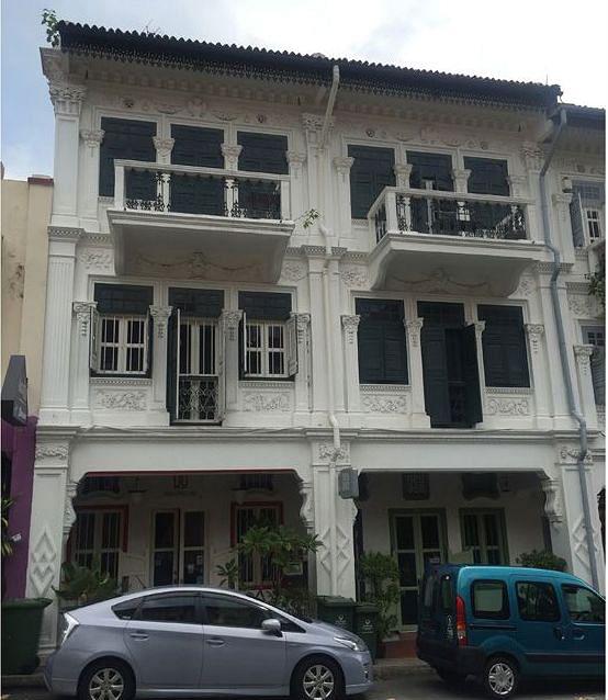 Bukit Pasoh shophouse