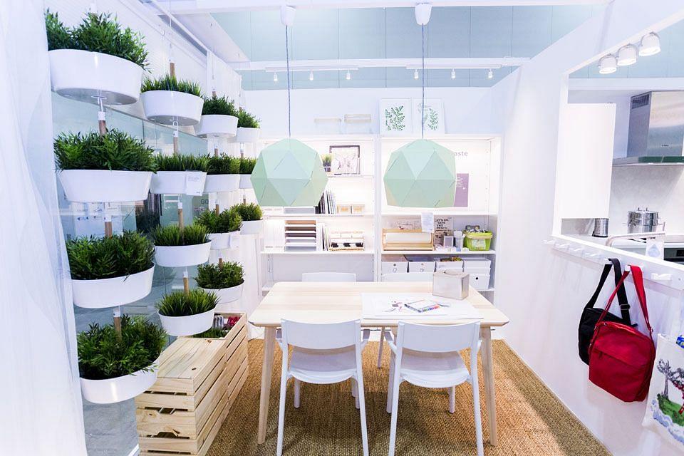 Ikea green home