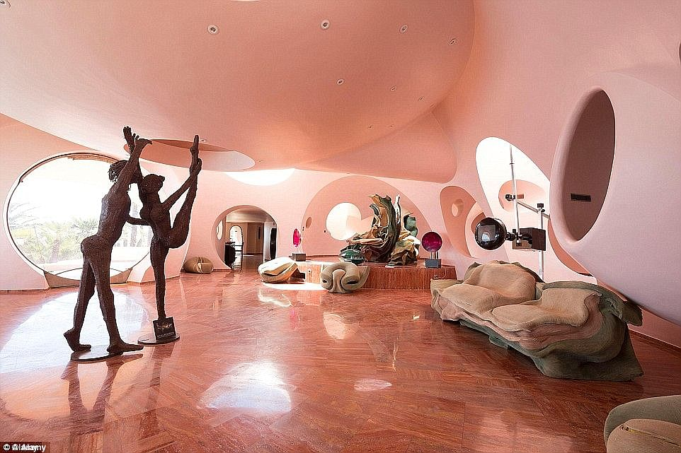 At 456 Million Pierre Cardin S Bubble Palace Is Europe S Most Expensive Home For Sale Home Decor Singapore