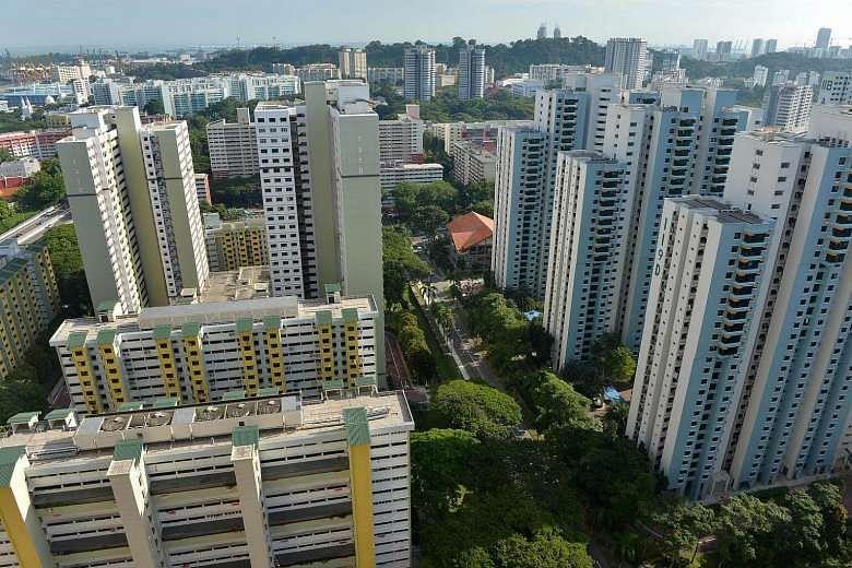 HDB flats Tiong Bahru