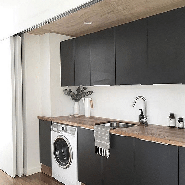 Washing Machine In Kitchen Design: 12 Clever Ways To Place A Washing Machine In Your Stylish