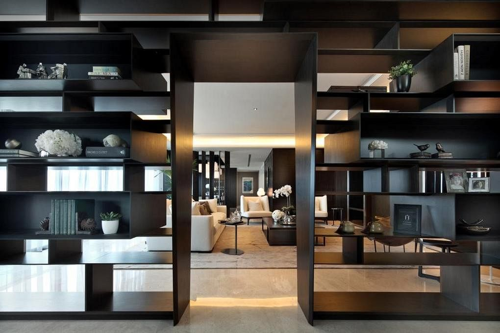 Design Ideas For Floor To Ceiling Cabinets And Display Shelves Home Decor Singapore