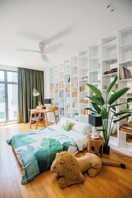 7 Design Ideas For A Stylish Study Area In The Bedroom Home Decor Singapore
