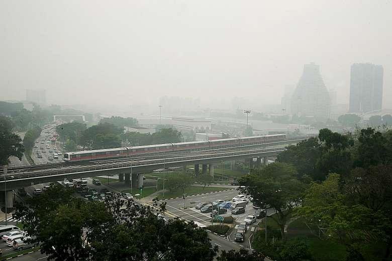 singapore haze 2017