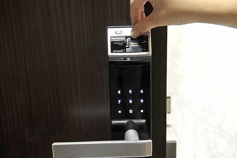 digital locks singapore safety tech popularity