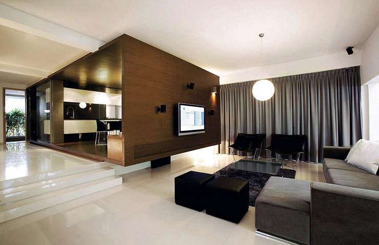 House Tours 7 Gorgeous Contemporary Style Semi Detached Houses In Singapore Home Decor Singapore