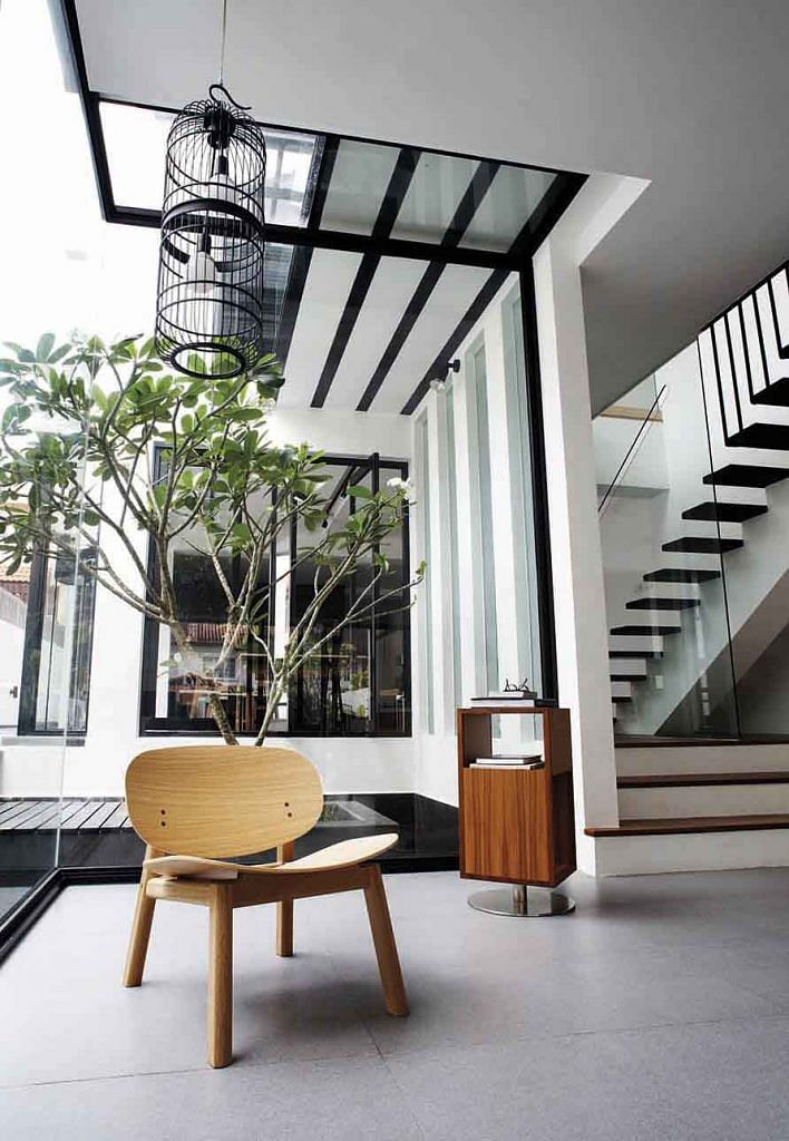House Tour Open Plan Design And Statement Furniture In This Semi Detached House Home Decor Singapore
