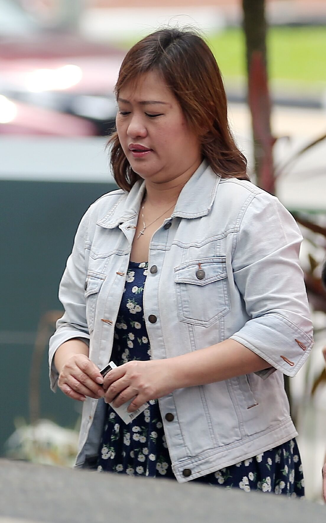 "Suzanna Bong Sim Swan denied abusing the maid, saying Ms Than Than Soe was ""very slow in her work"""