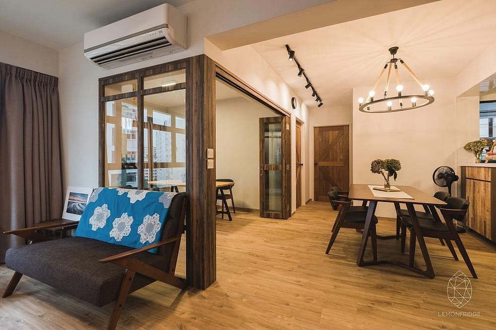3 Room Hdb Bto Interior Design Ideas From 3 Apartments Home Decor Singapore