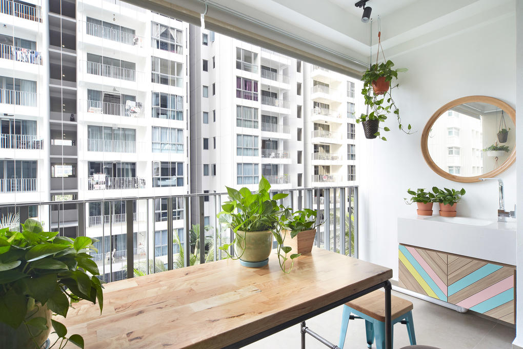 8 balcony design ideas from real homes in Singapore - Home ...