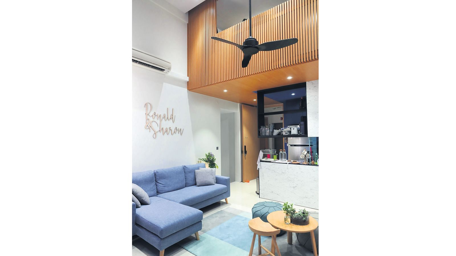 House Tour High Ceilings And Ideal Location Make This Loft Apartment The Perfect Home Home Decor Singapore