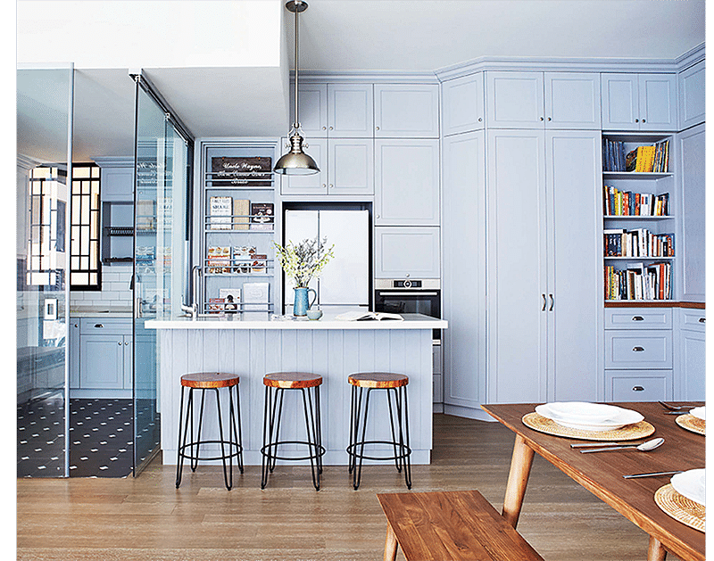 8 Stylish Homes With Both Wet And Dry Kitchens Home Decor
