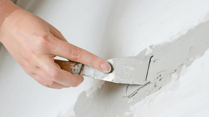 what to do before painting a wall and how to cover cracks
