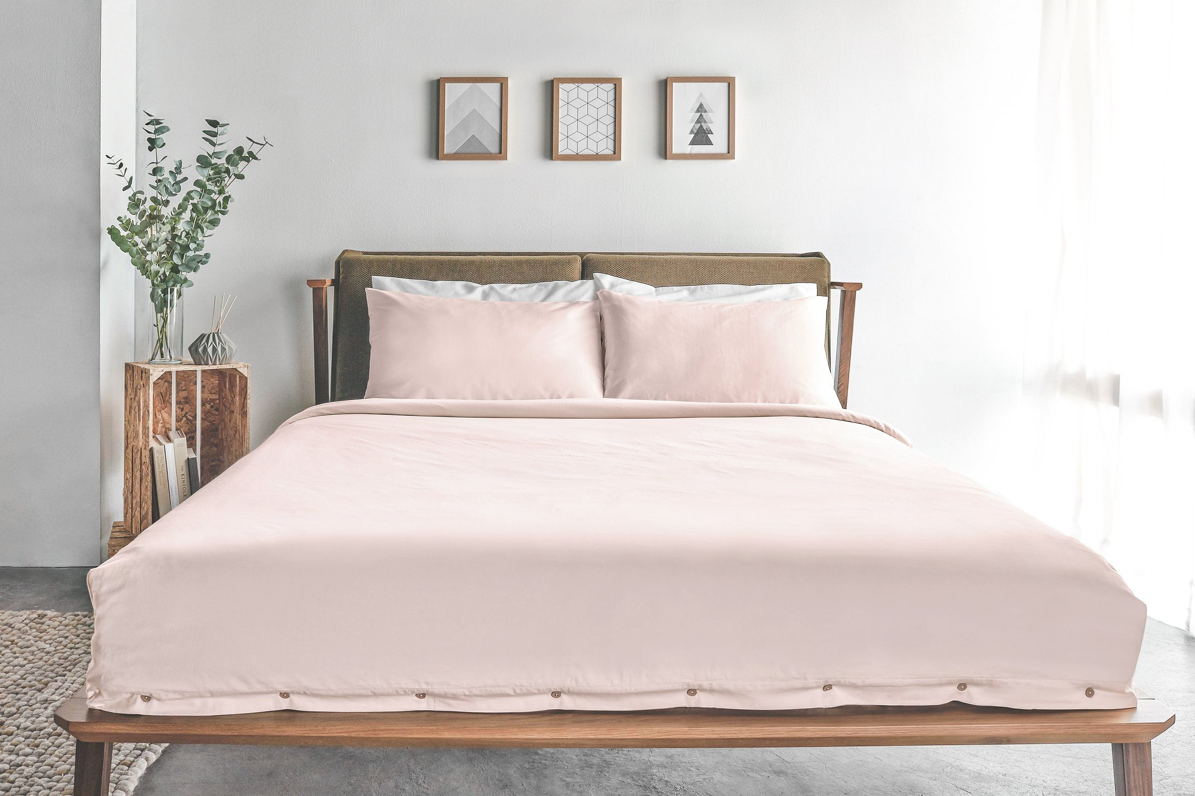 dulux spiced honey with pastel pink, sojao singapore