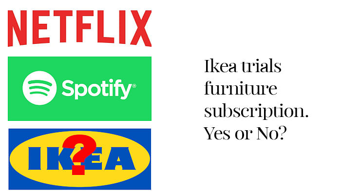 Ikea wants you to sign up for furniture rental.