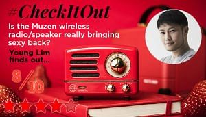 Check it out with Young Lim: Muzen wireless speaker