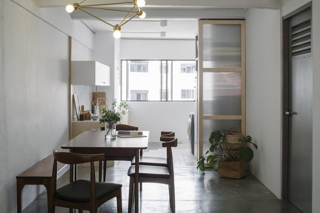 House Tour A Blend Of Old And New In This Three Room Hdb Apartment In Hougang Home Decor Singapore