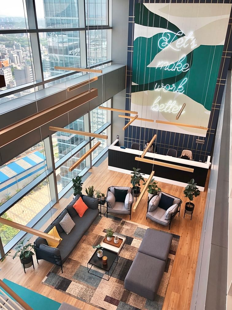 Why co-working spaces are the future
