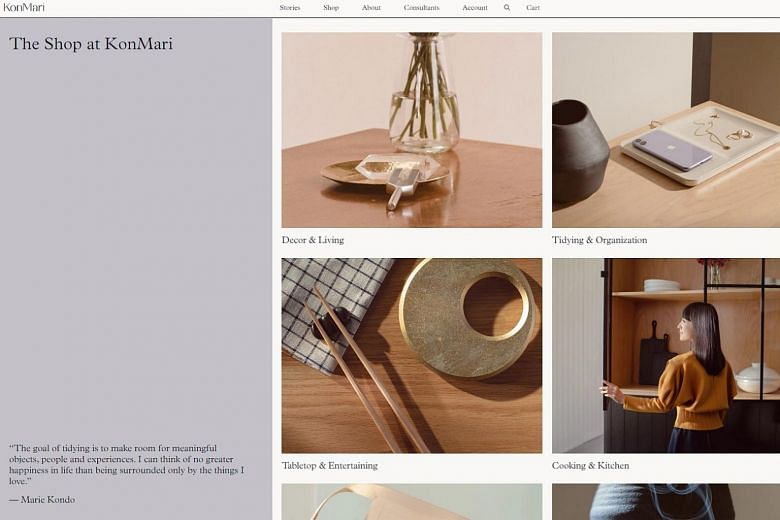 Marie Kondo Launches Online
