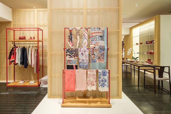 Get up close to the beautifully made products at Shang Xia's pop-up at Takashimaya