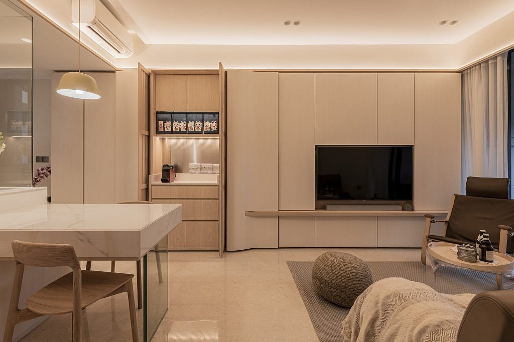 House Tour Two Bedroom Condominium Apartment With Minimalist And Sleek Interiors Home Decor Singapore