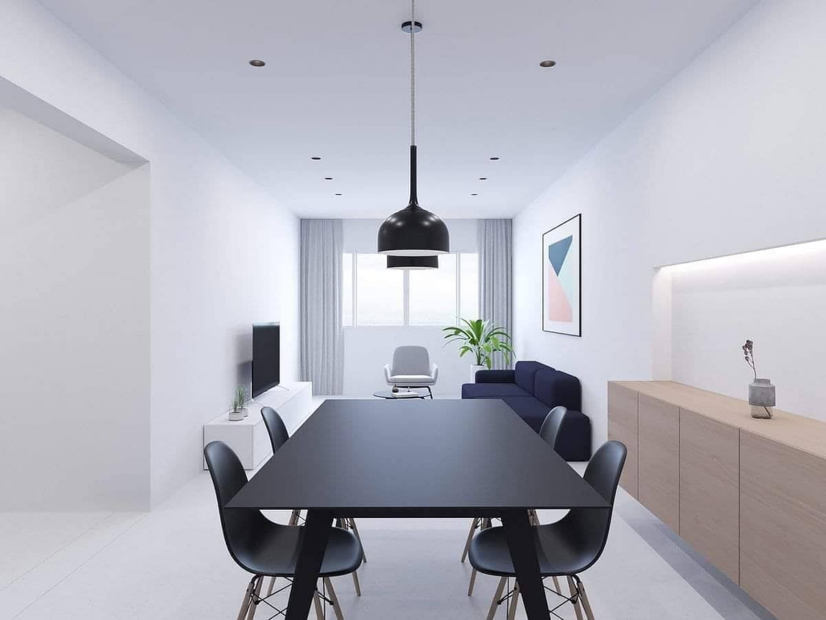 A Minimalist All White Apartment 10 Ways To Ace The Look And What Not To Do Home Decor Singapore