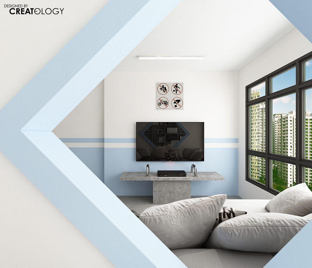Home Design Ideas For Hdb Flats: A Void-deck Inspired HDB Flat Design Where You Can Loiter
