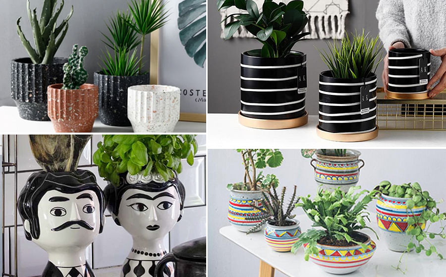 10 Chic Unique Pots And Planters That Ll Add Cheer To Your Space
