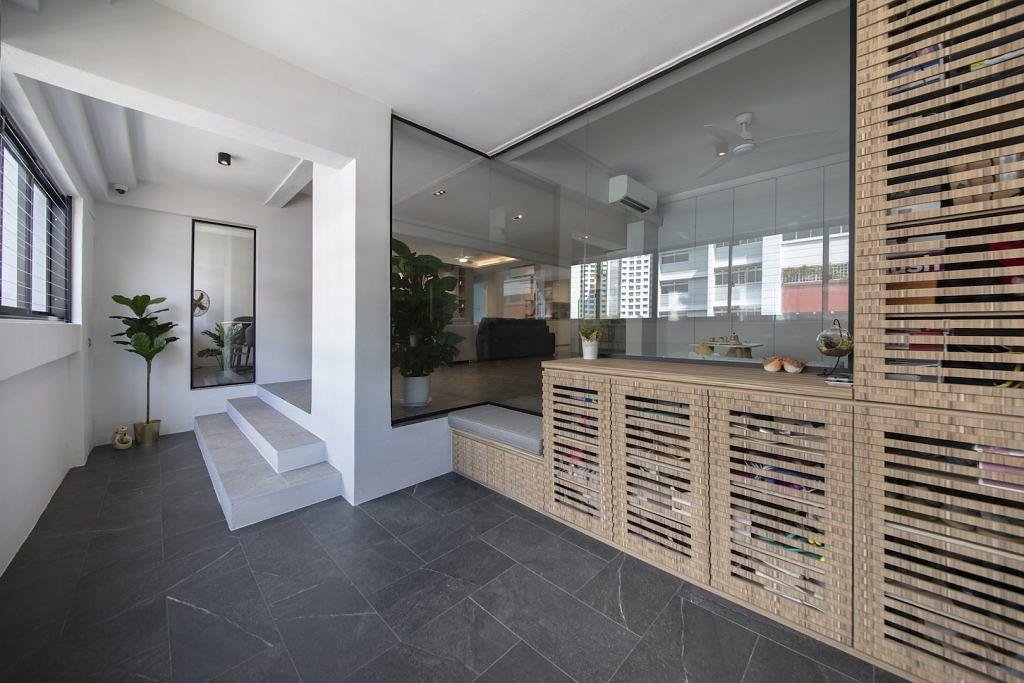 House Tour 110k Renovation Of A Modern Minimalist Jumbo Hdb Flat In Marsiling Home Decor Singapore