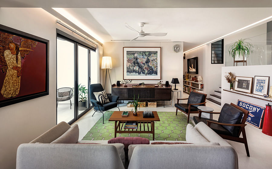 House Tour A Thoughtfully Renovated 1978 Split Level 5 Bedroom Condo In Upper Bukit Timah Home Decor Singapore