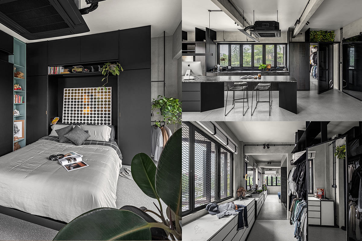 House Tour Turning A Stuffy 4 Bedroom Walk Up Into A Cat Friendly Fashionable Open Plan Home Home Decor Singapore