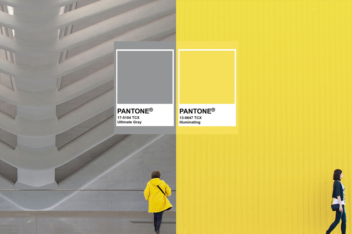 Pantone picks a pair of colours as its Colour of the Year 2021: Ultimate  Gray and Illuminating - Home & Decor Singapore