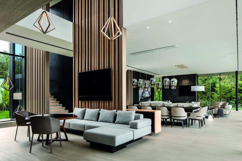 A Contemporary Vacation Home Near Lake, Master Design Furniture Ontario Ca