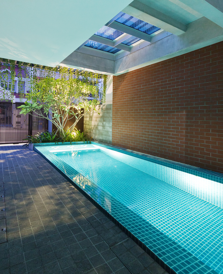 House Tour A Multi Generational Terrace Home With A Hidden Swimming Pool Home Decor Singapore