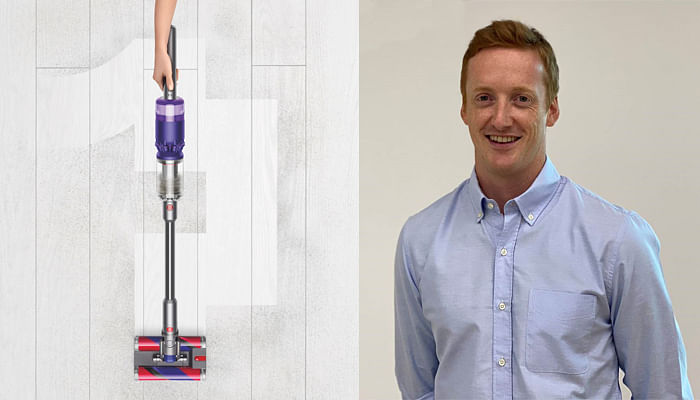 will kerr, head of floor care at dyson